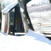 Barnside Snow12x14