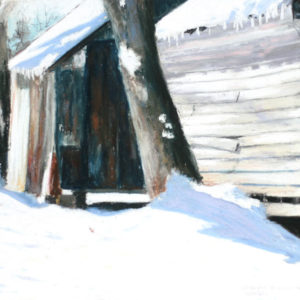 Barnside Snow12x14