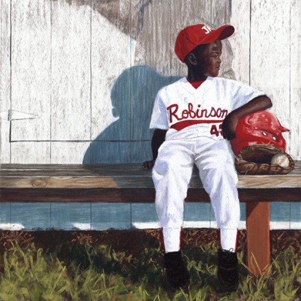 IN HIS SHADOW Jackie Robinson
