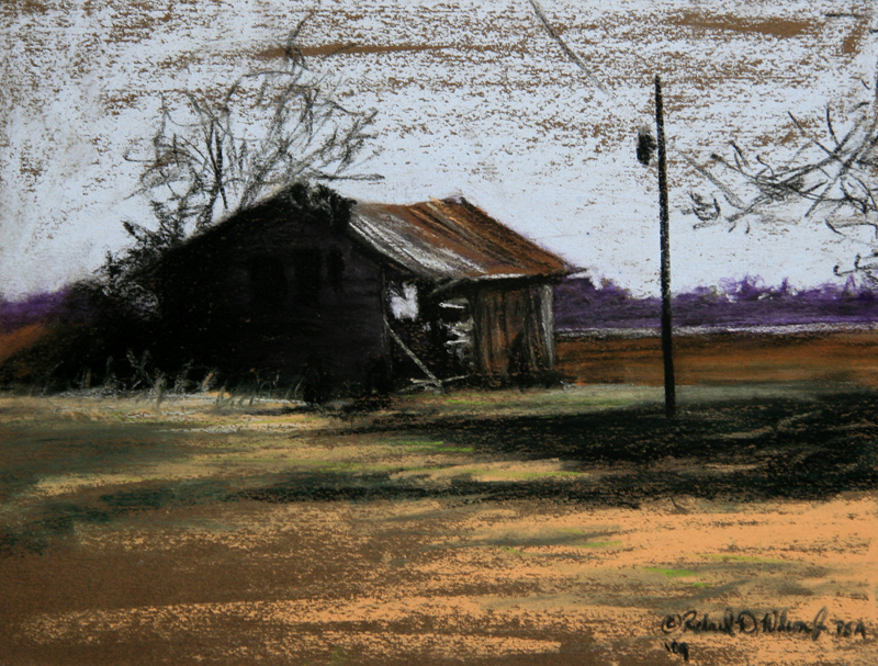weathered barn richard wilson art