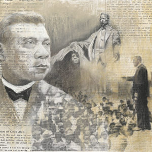 booker t washington 24x36