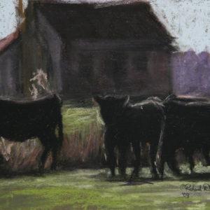 Cow Scene 7.65X10