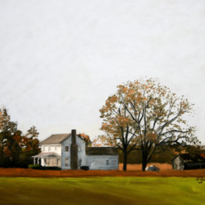 White Farm House 14x20